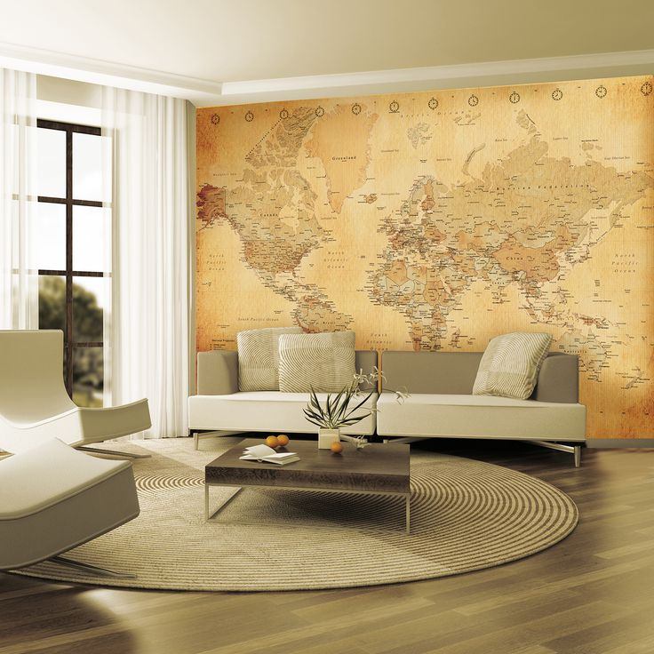 Map Wallpaper For Walls