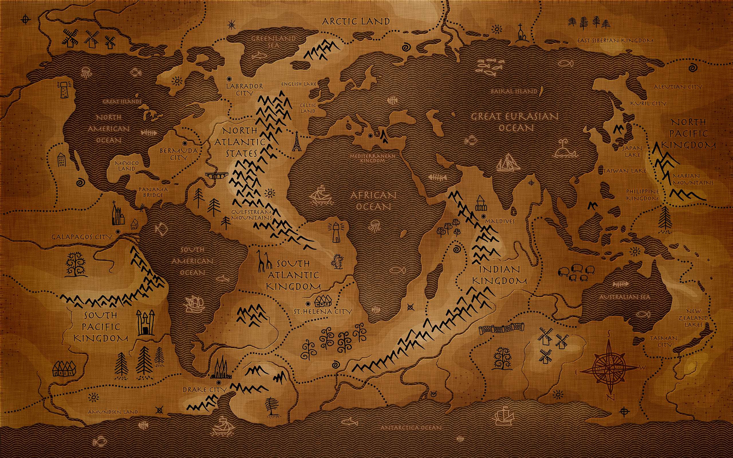 Maps Wallpaper