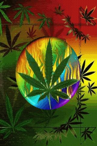 Marijuana 3D Live Wallpaper
