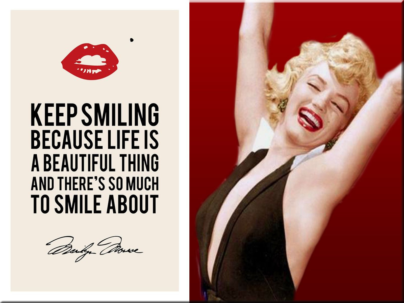 Marilyn Monroe Quote Wallpaper