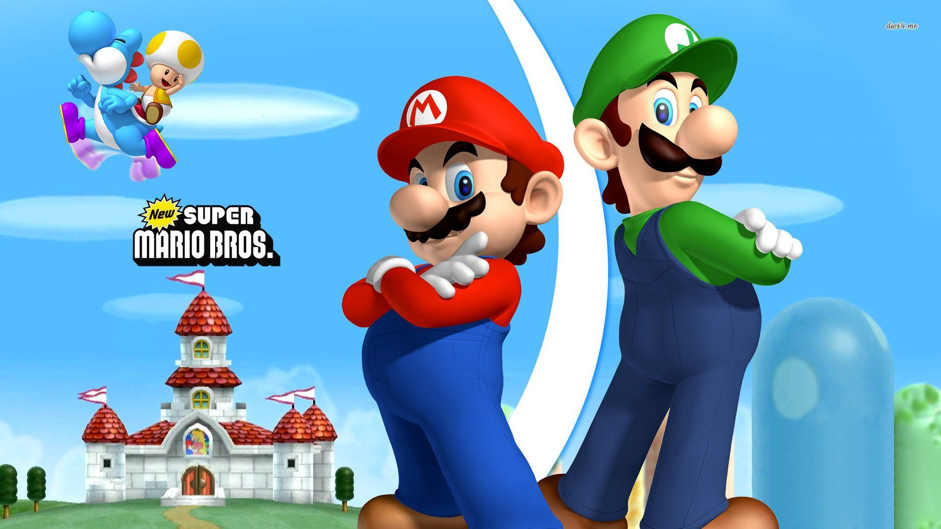 Mario And Luigi Wallpaper