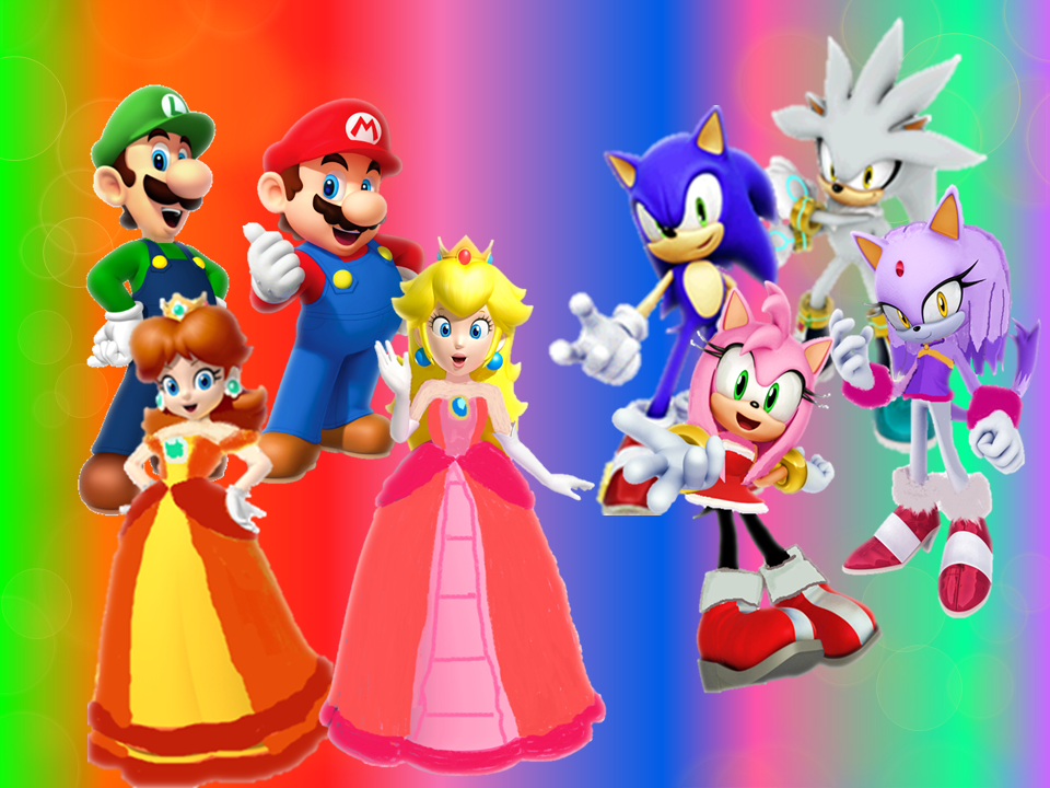 Mario And Sonic Wallpaper
