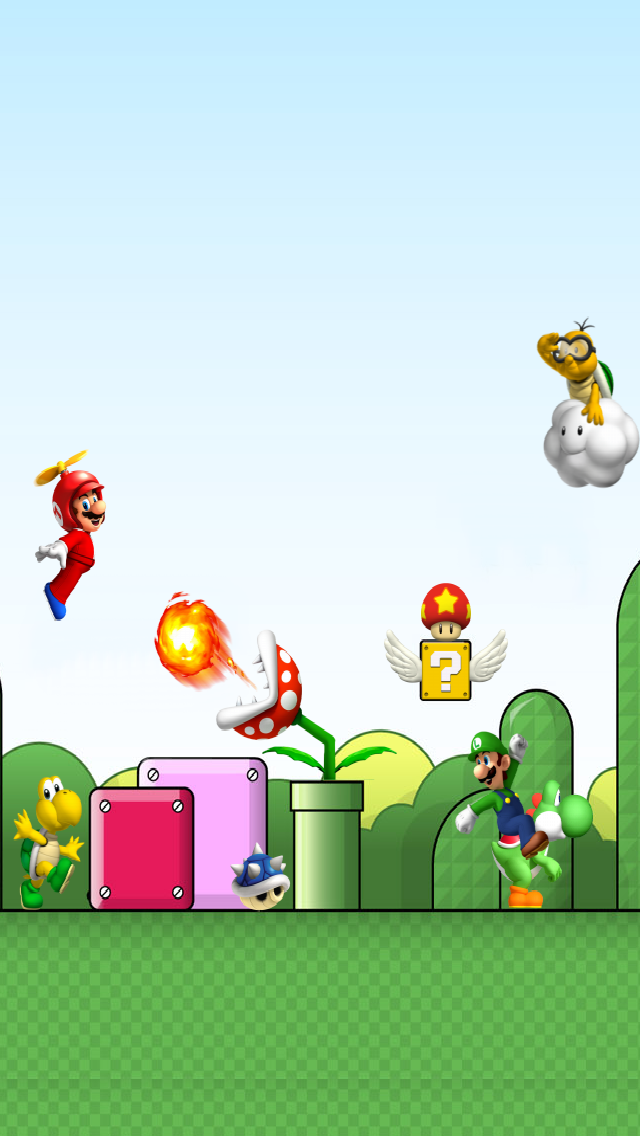 Mario Bros Iphone Wallpaper