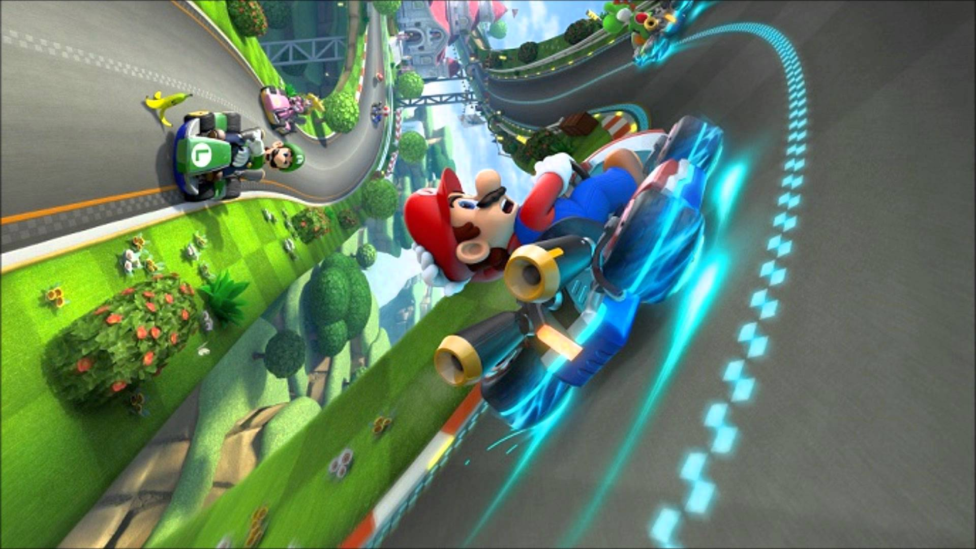 Mario Cart Wallpaper