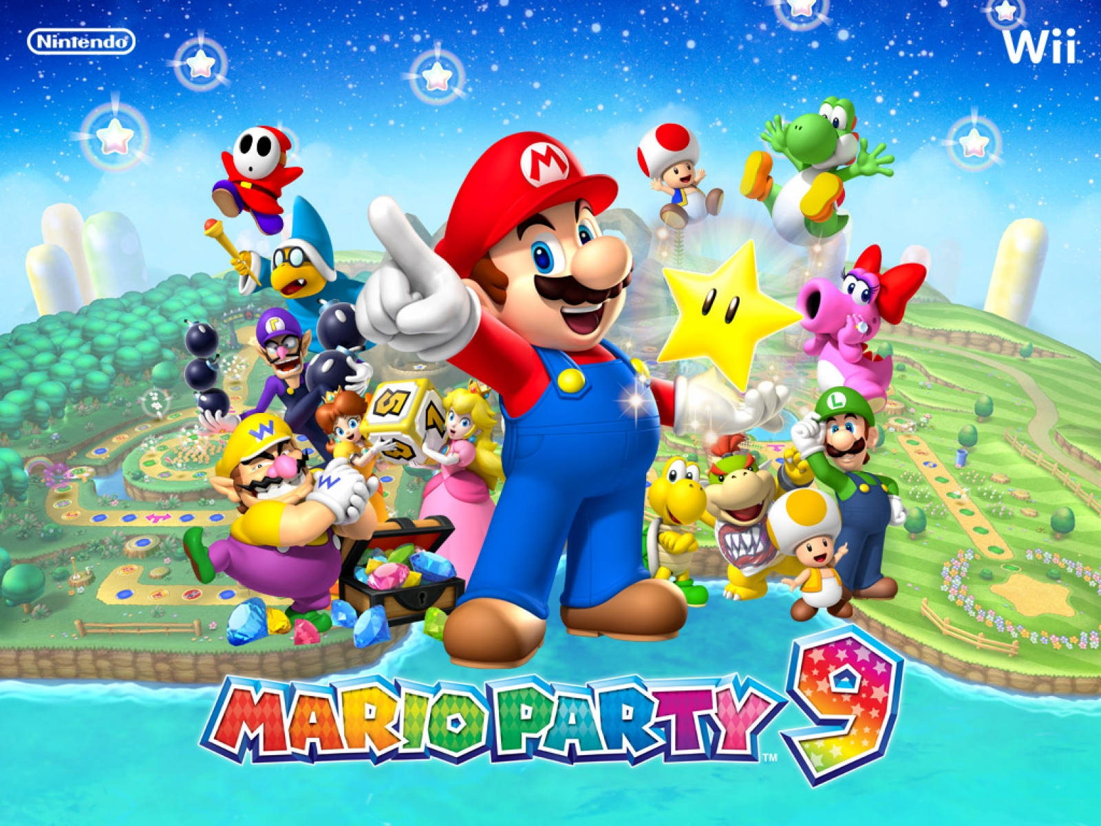 Mario Party 9 Wallpaper