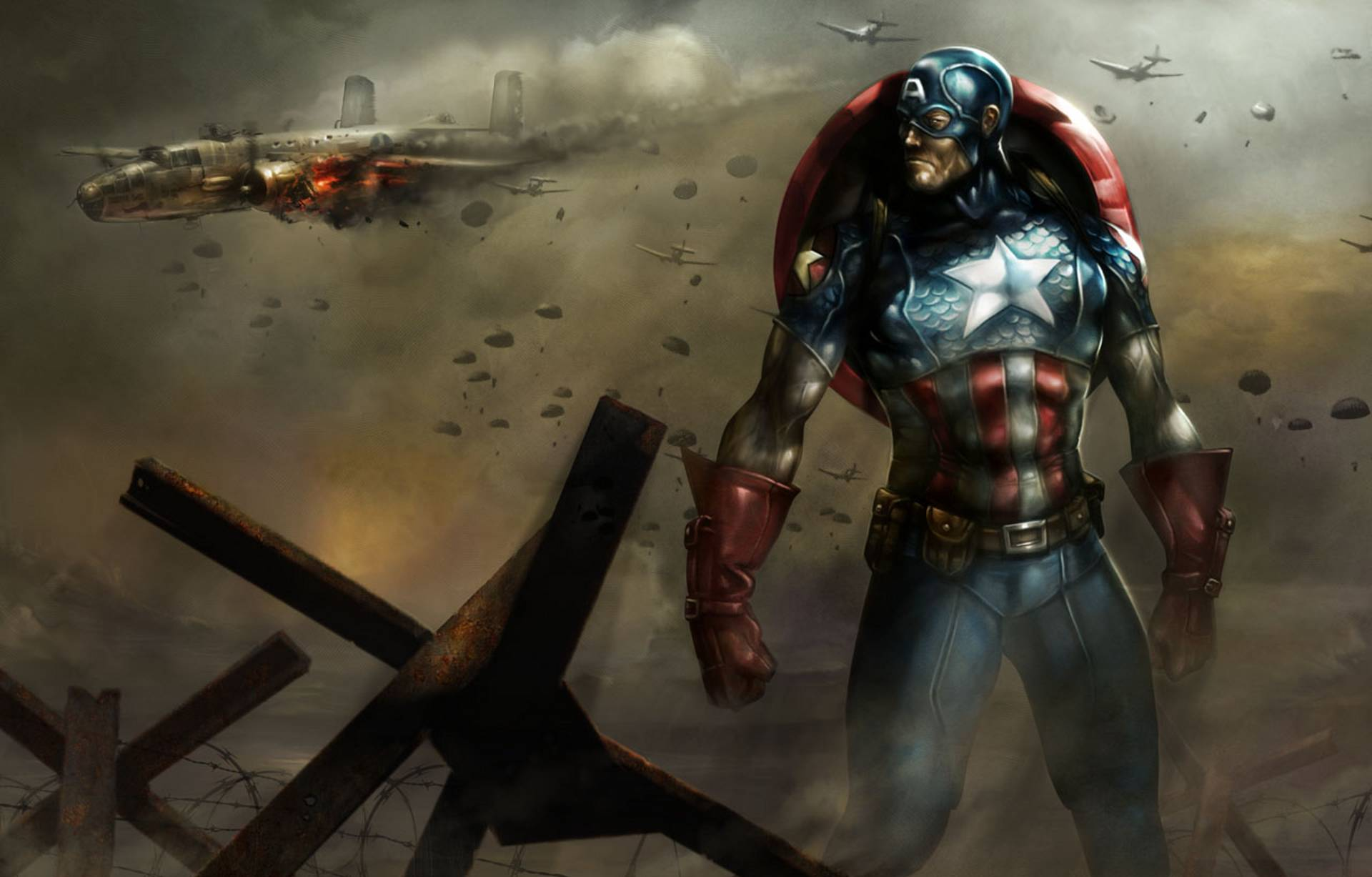 Marvel Captain America Wallpaper