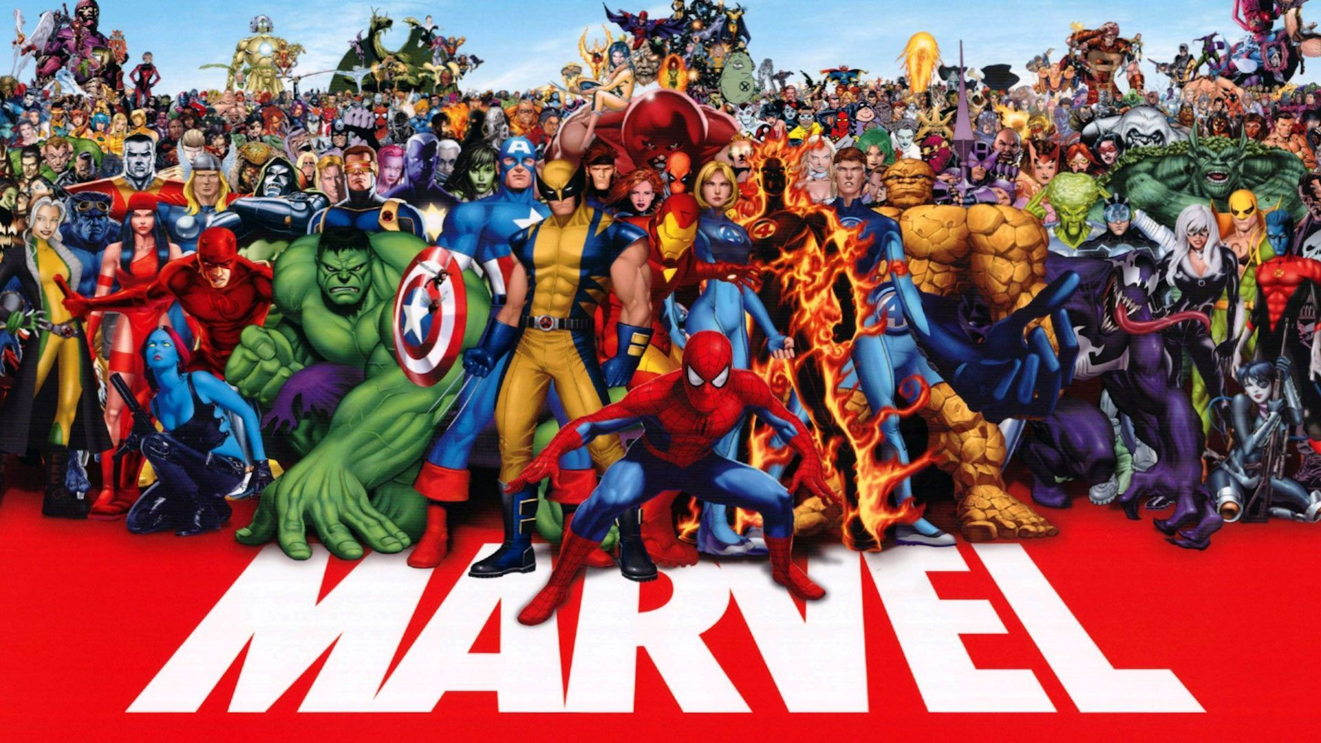 Marvel Character Wallpaper