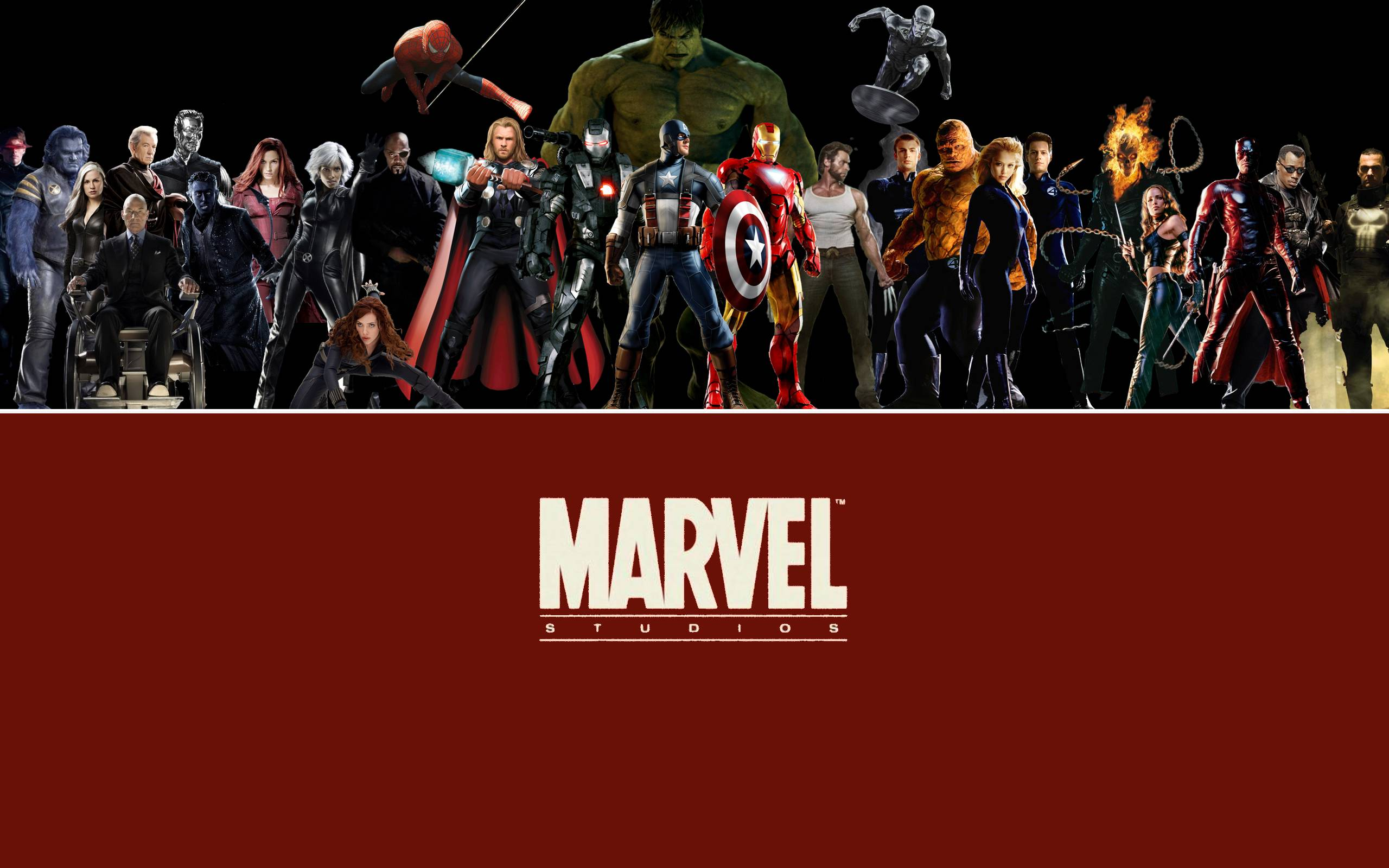 Marvel Character Wallpapers