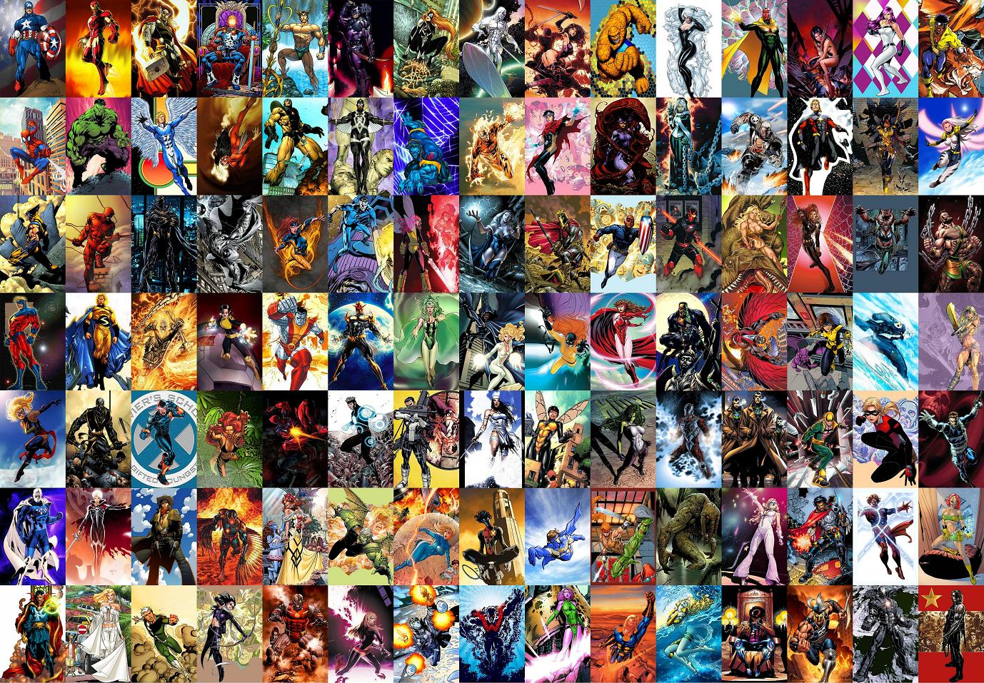 Marvel Characters Wallpapers