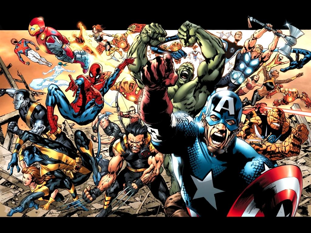 Marvel Comic Wallpaper