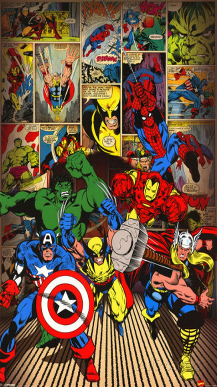 Marvel Comics Wallpaper Iphone