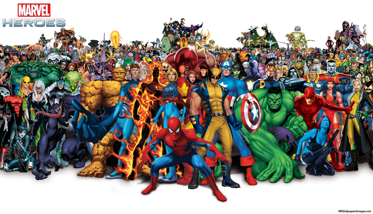 Marvel Heroes Wallpaper