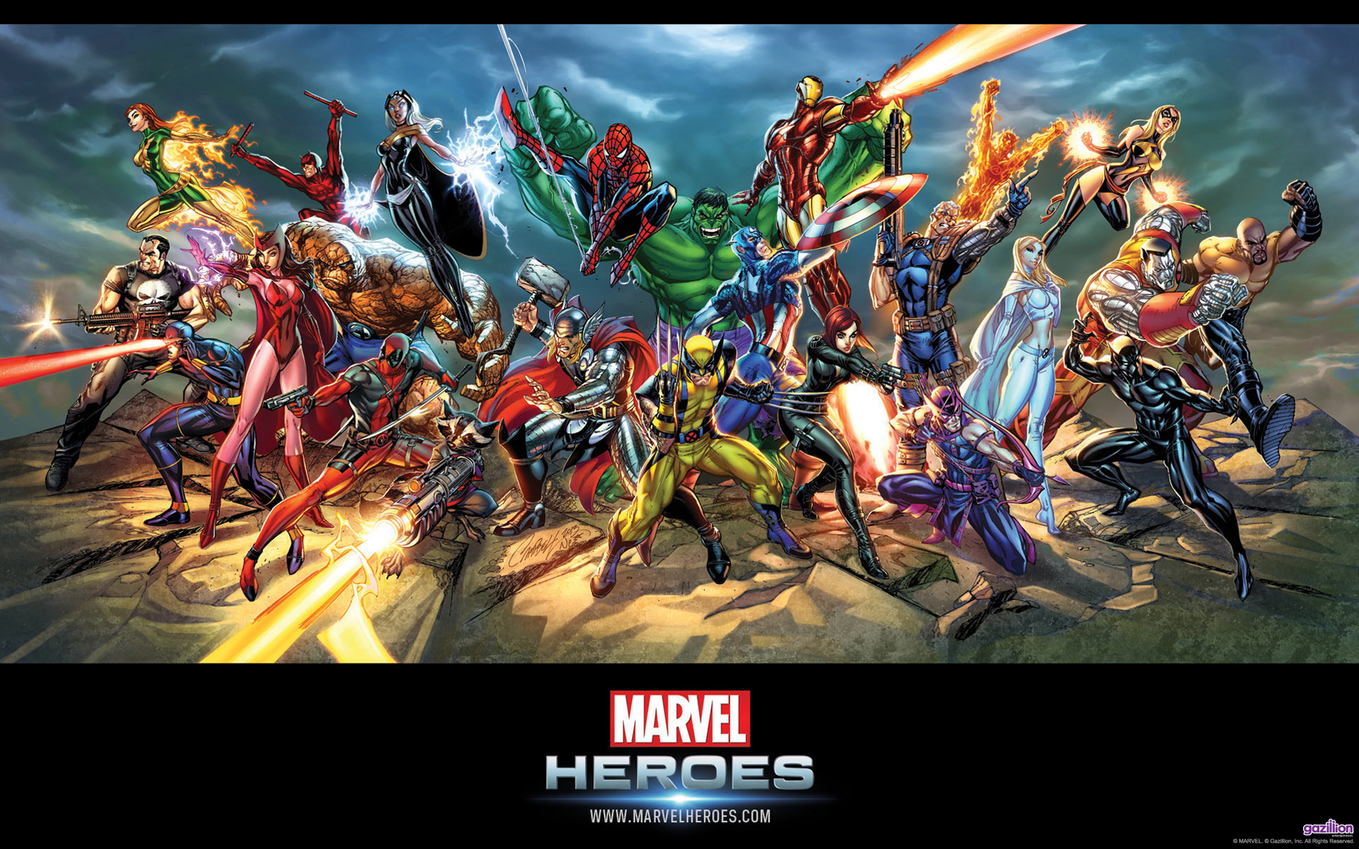 Marvel Heroes Wallpapers