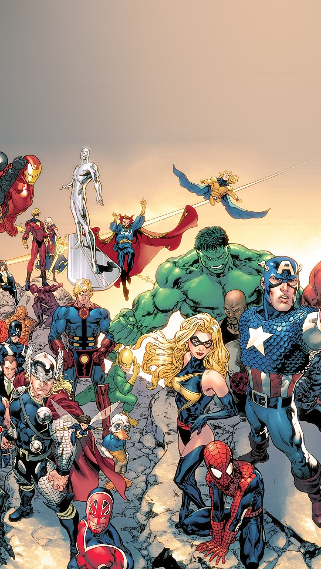 Marvel Iphone 5 Wallpaper
