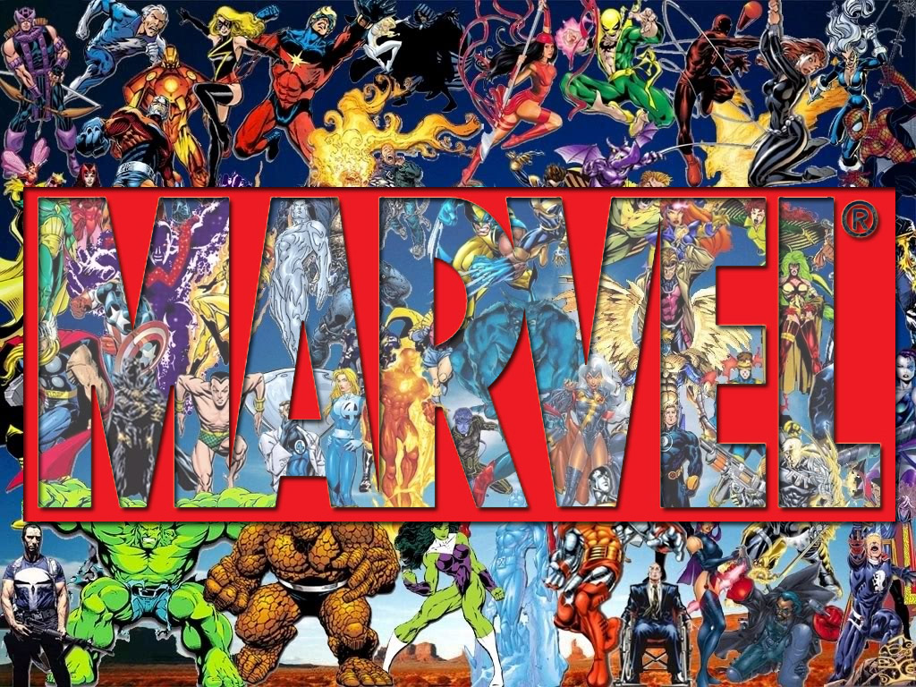 Marvel Logo Wallpaper