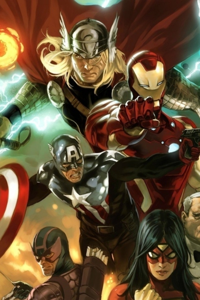 Marvel Mobile Wallpaper
