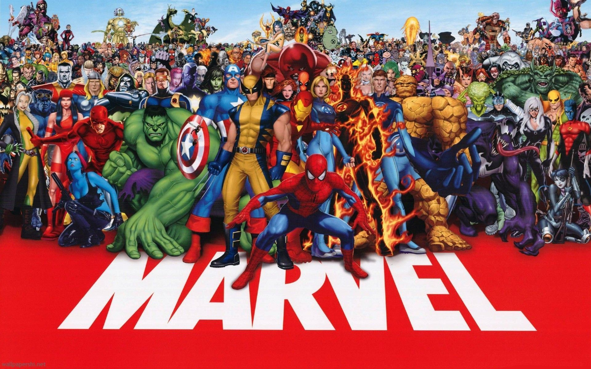 Marvel Super Hero Wallpaper