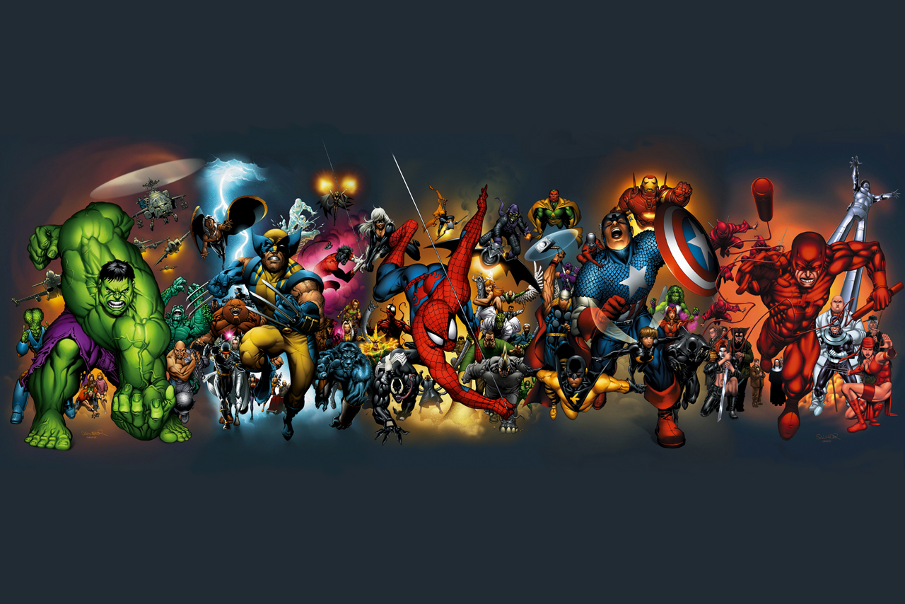 Marvel Superhero Wallpaper