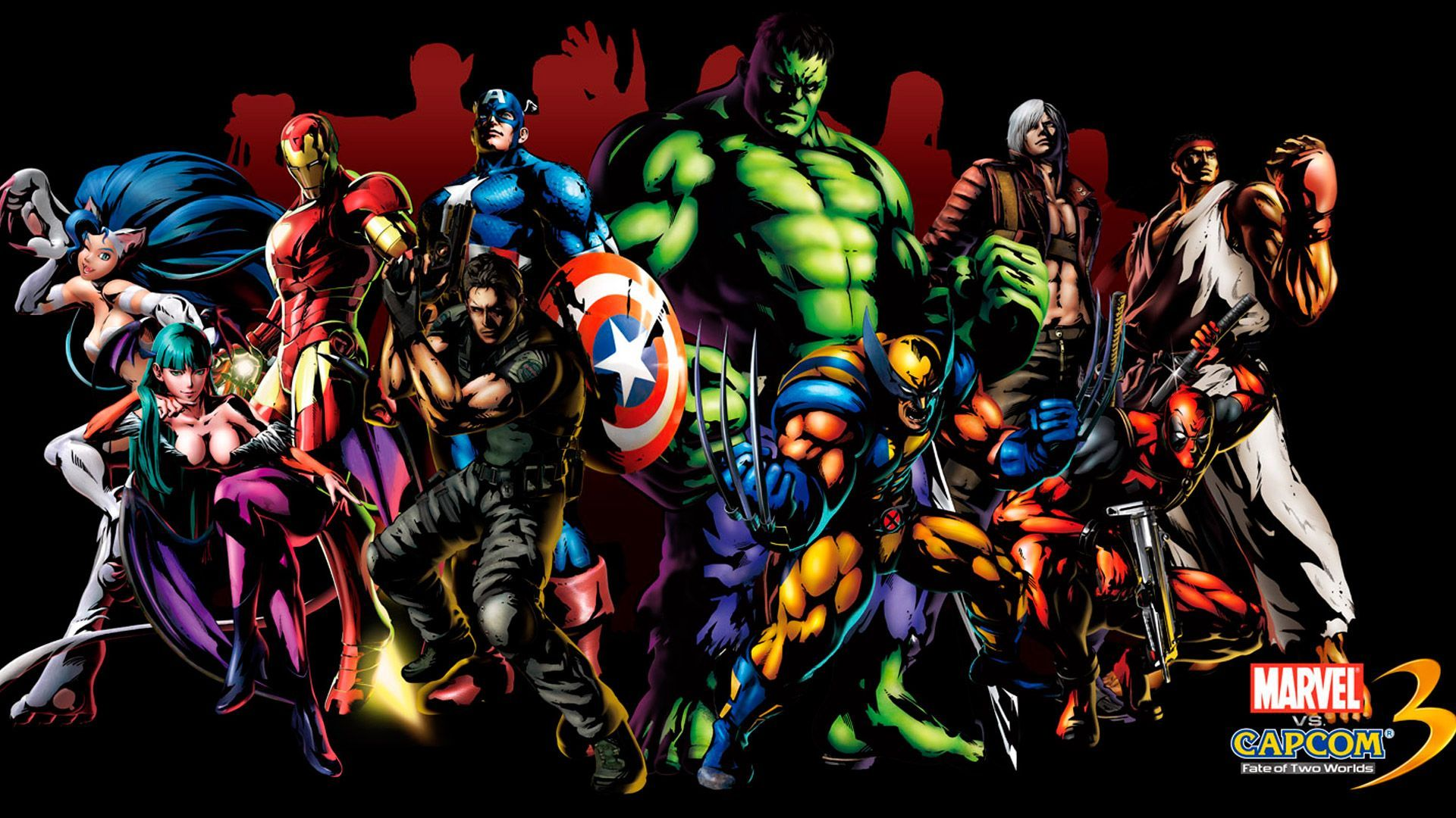 Marvel heroes background iphone