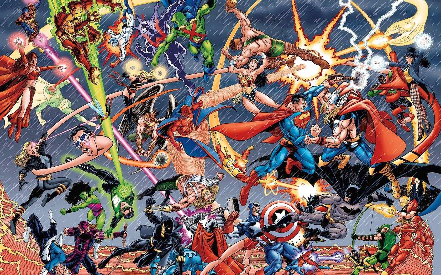 Marvel Vs Dc Wallpaper
