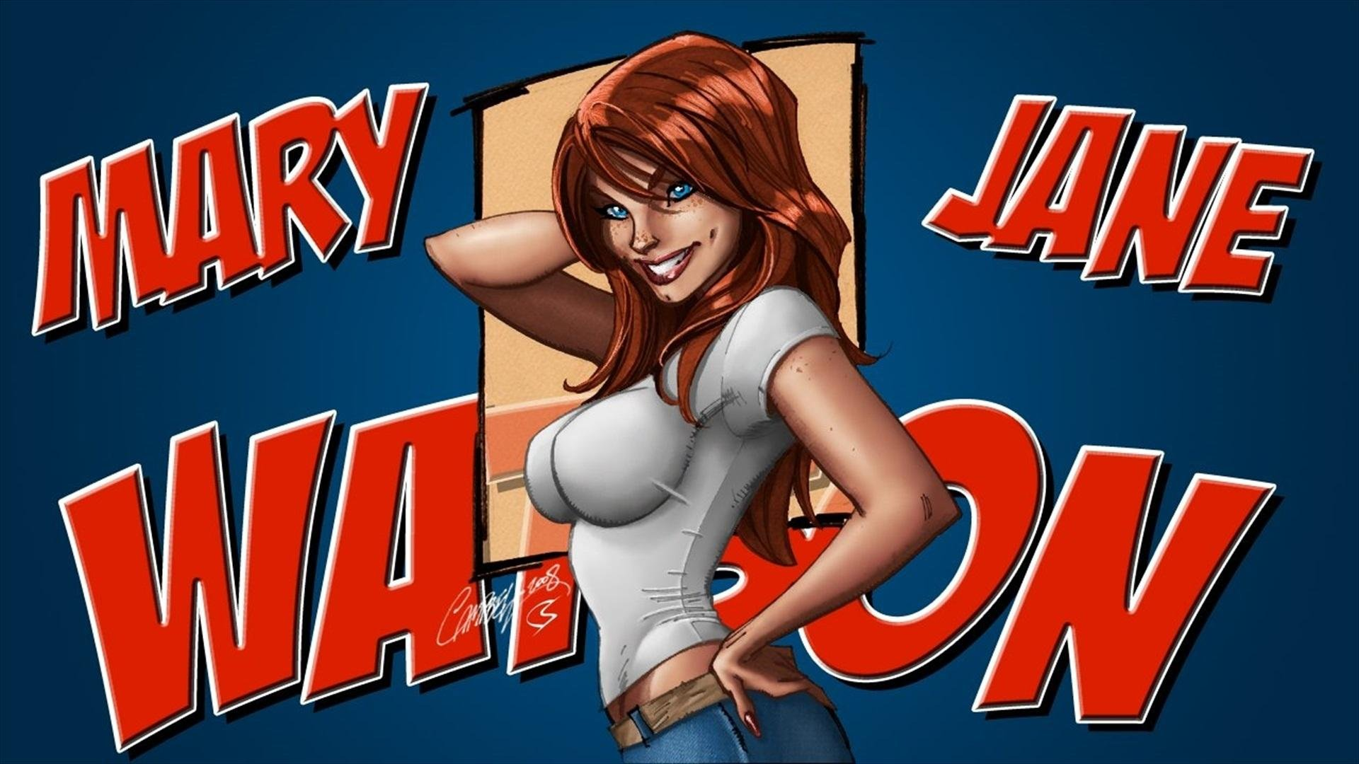 Mary Jane Watson Wallpaper