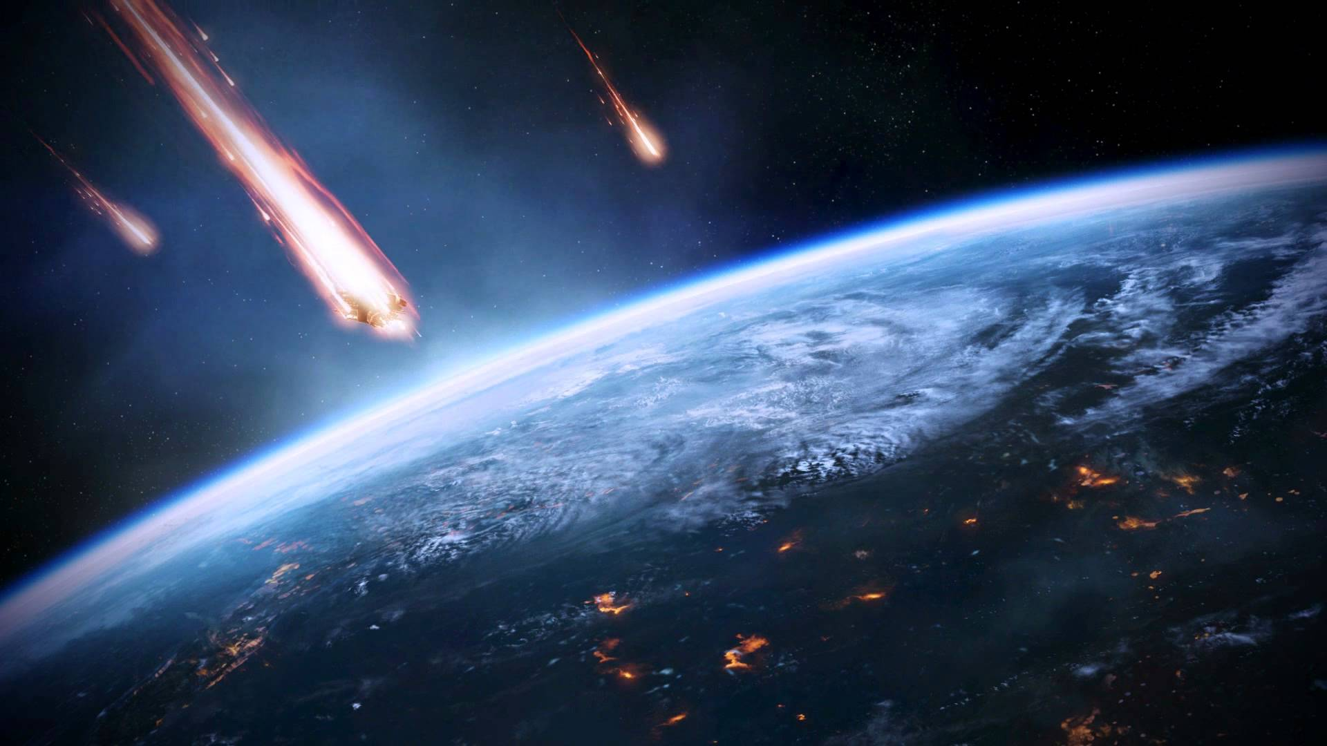 Mass Effect Animated Wallpaper