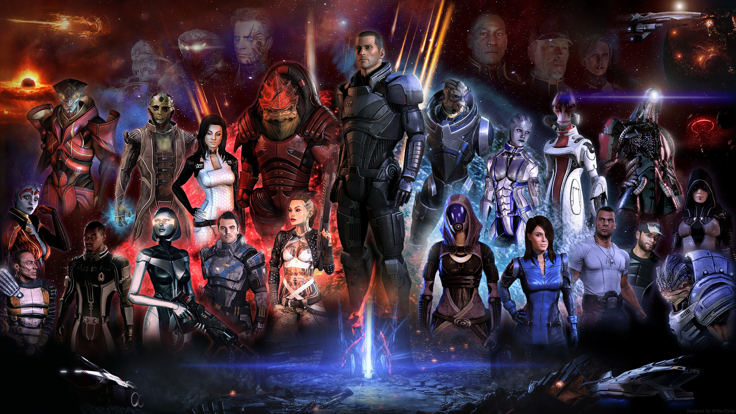 Mass Effect Trilogy Wallpaper