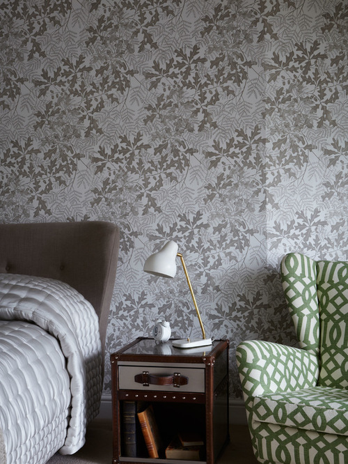 Matching Wallpaper And Fabric