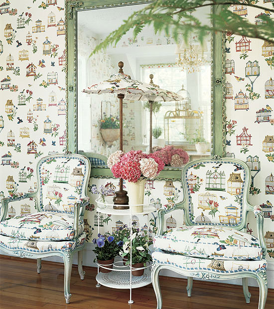 Download Matching Wallpaper And Fabric Gallery