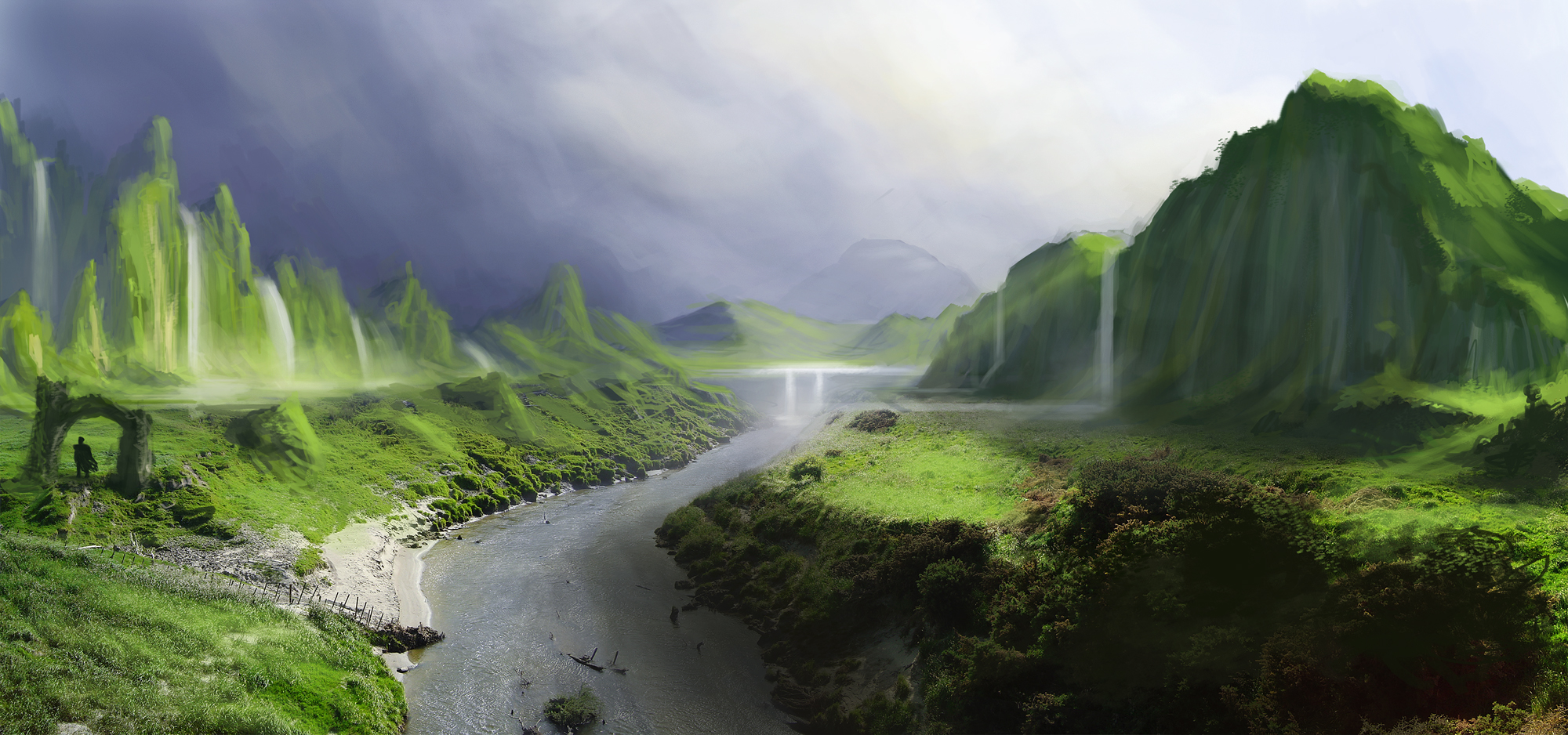 Download matte painting wallpaper gallery for Matte painting