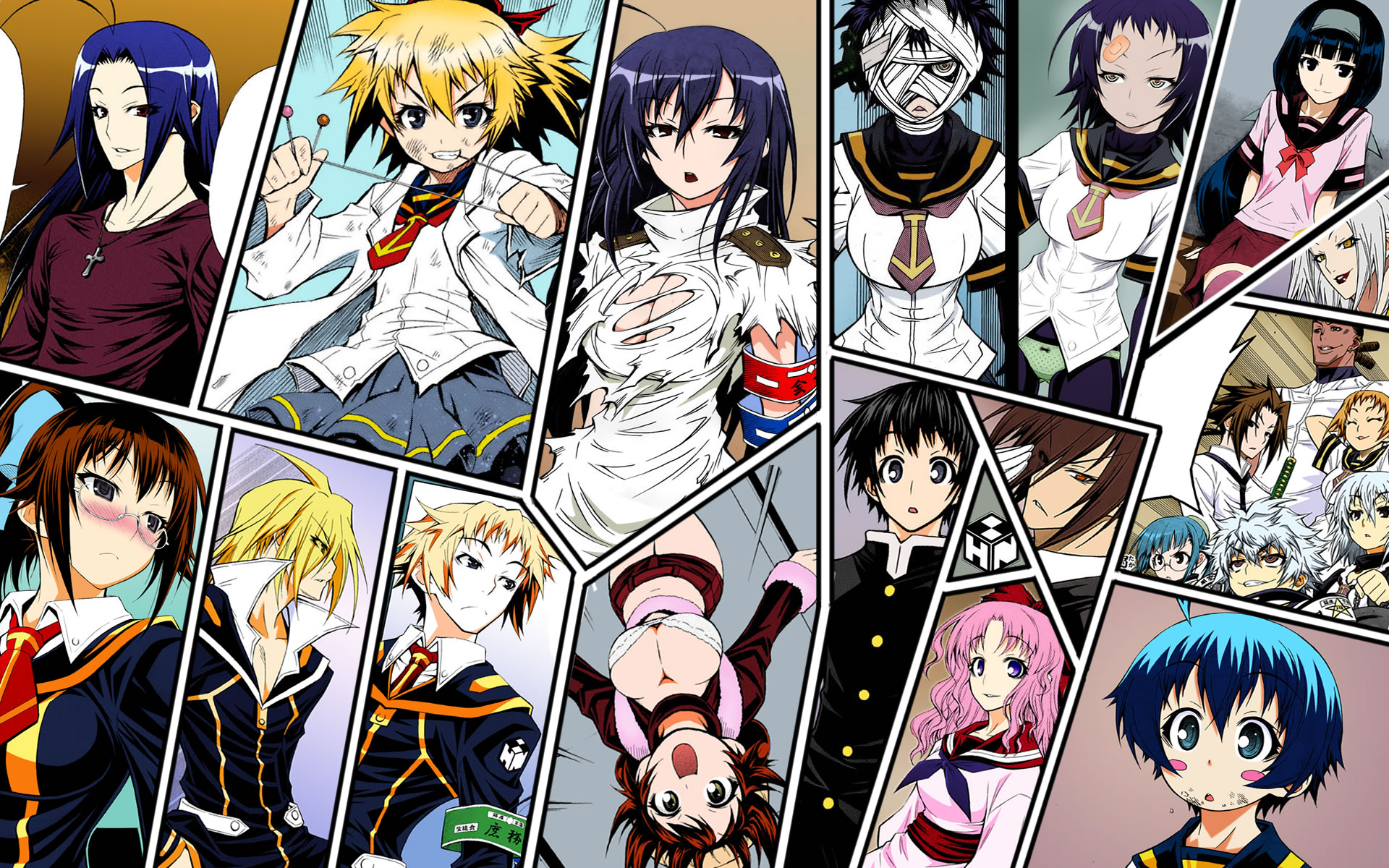 Medaka Box Wallpaper