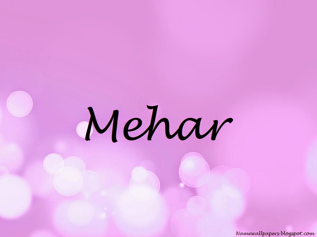 Mehar Name Wallpaper