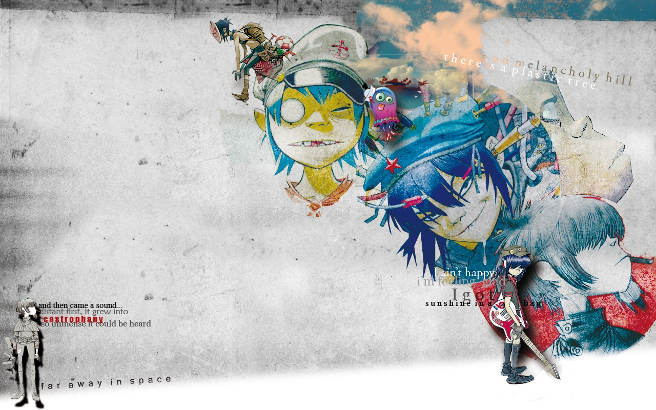 Noodle Gorillaz  Manga Wiki  FANDOM powered by Wikia