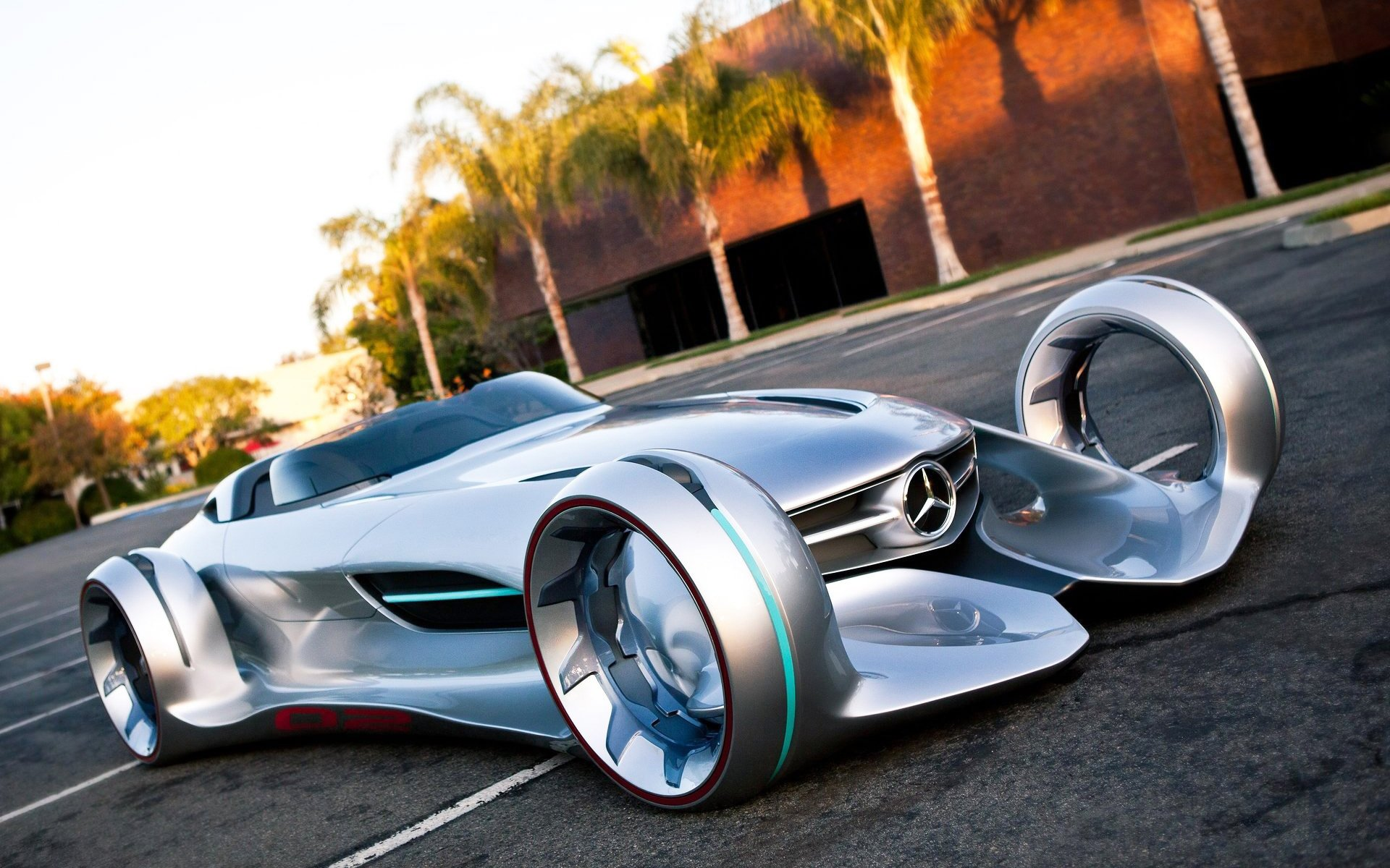 Mercedes Benz Silver Lightning Wallpaper