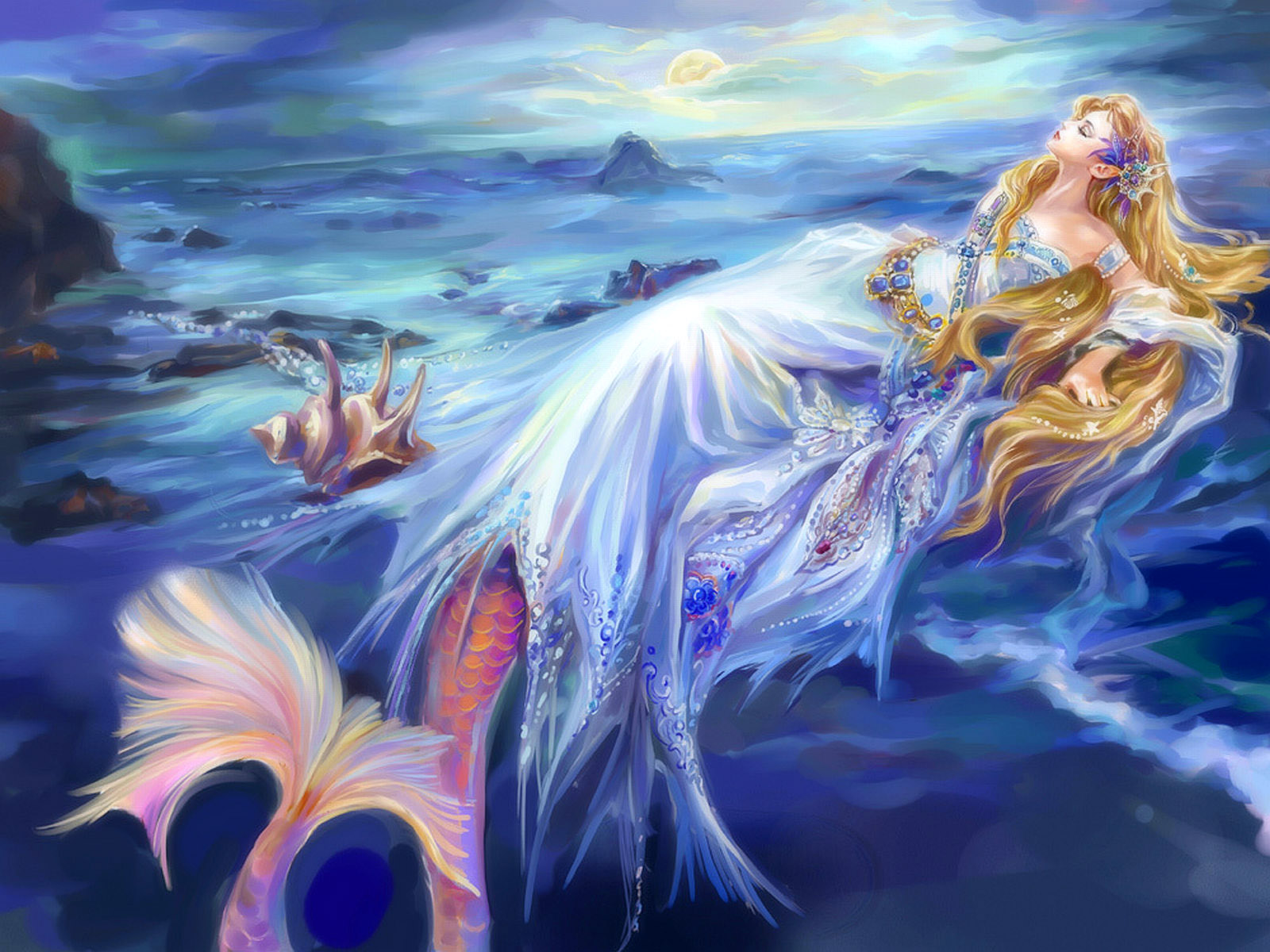 Mermaid Desktop Wallpaper