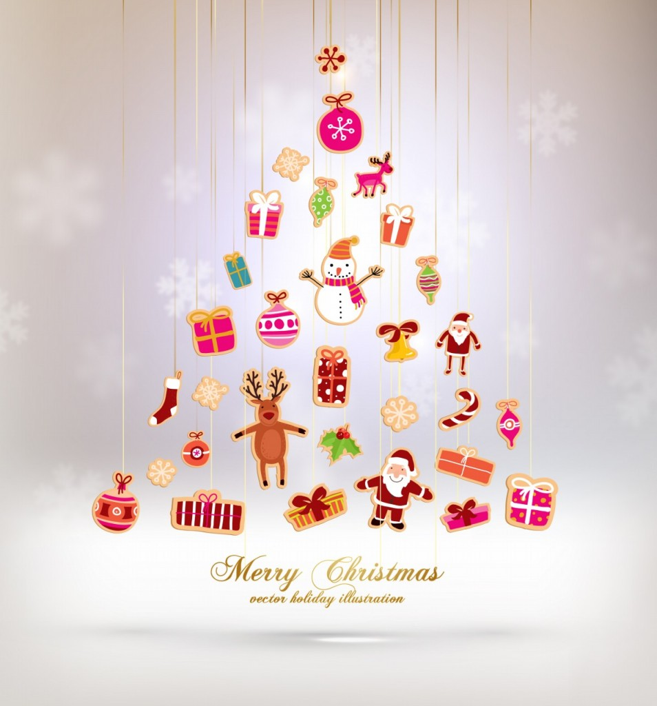 download merry christmas and happy new year wallpaper 2014
