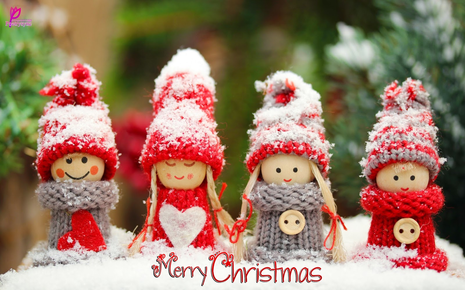 Merry Christmas Cute Wallpaper