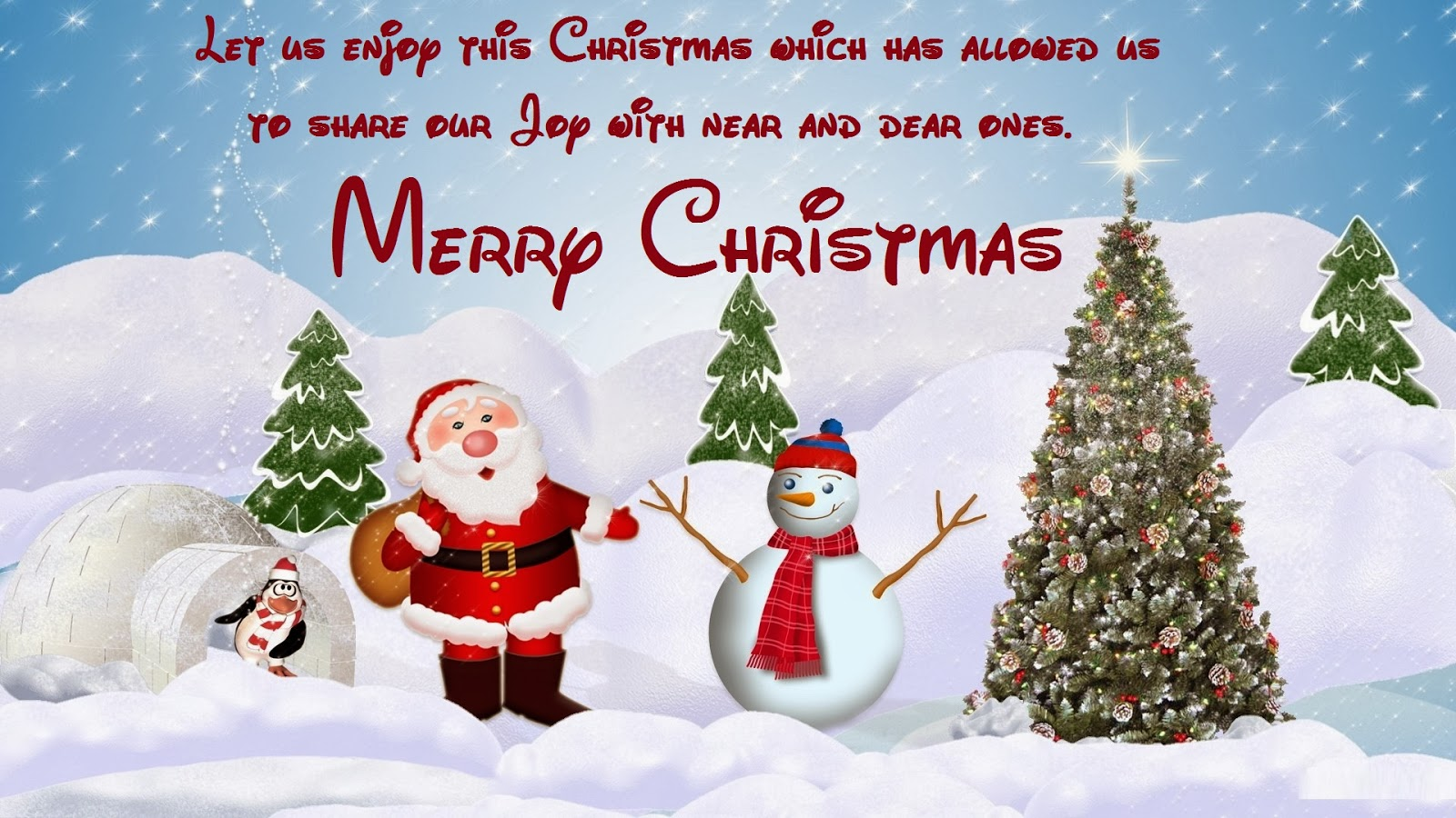 Merry Christmas Santa Claus Wallpapers
