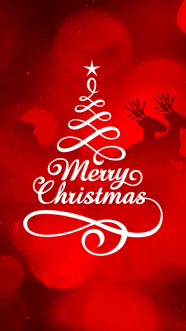 Merry Christmas Wallpaper Iphone