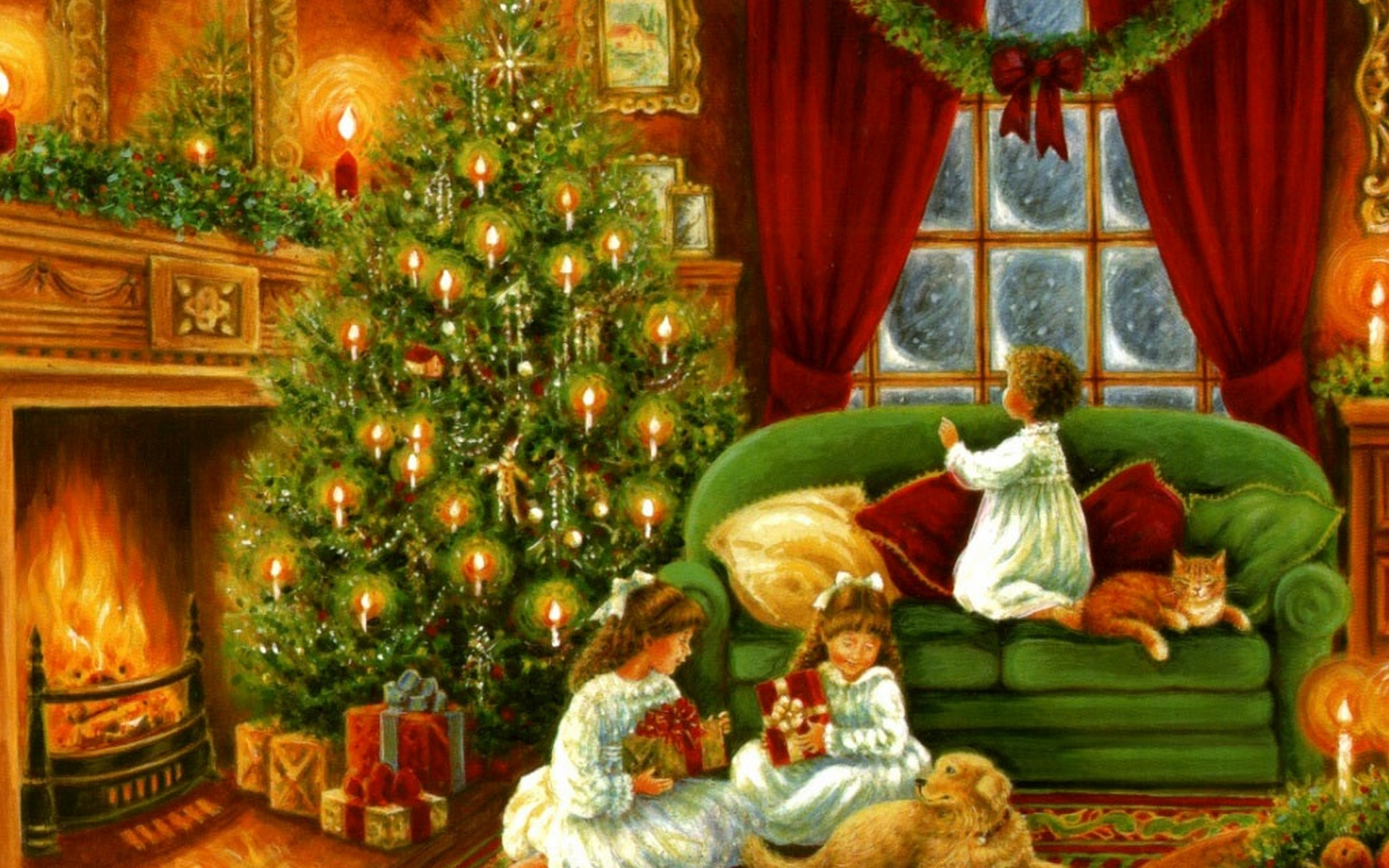 Merry Christmas Wishes HD Wallpaper