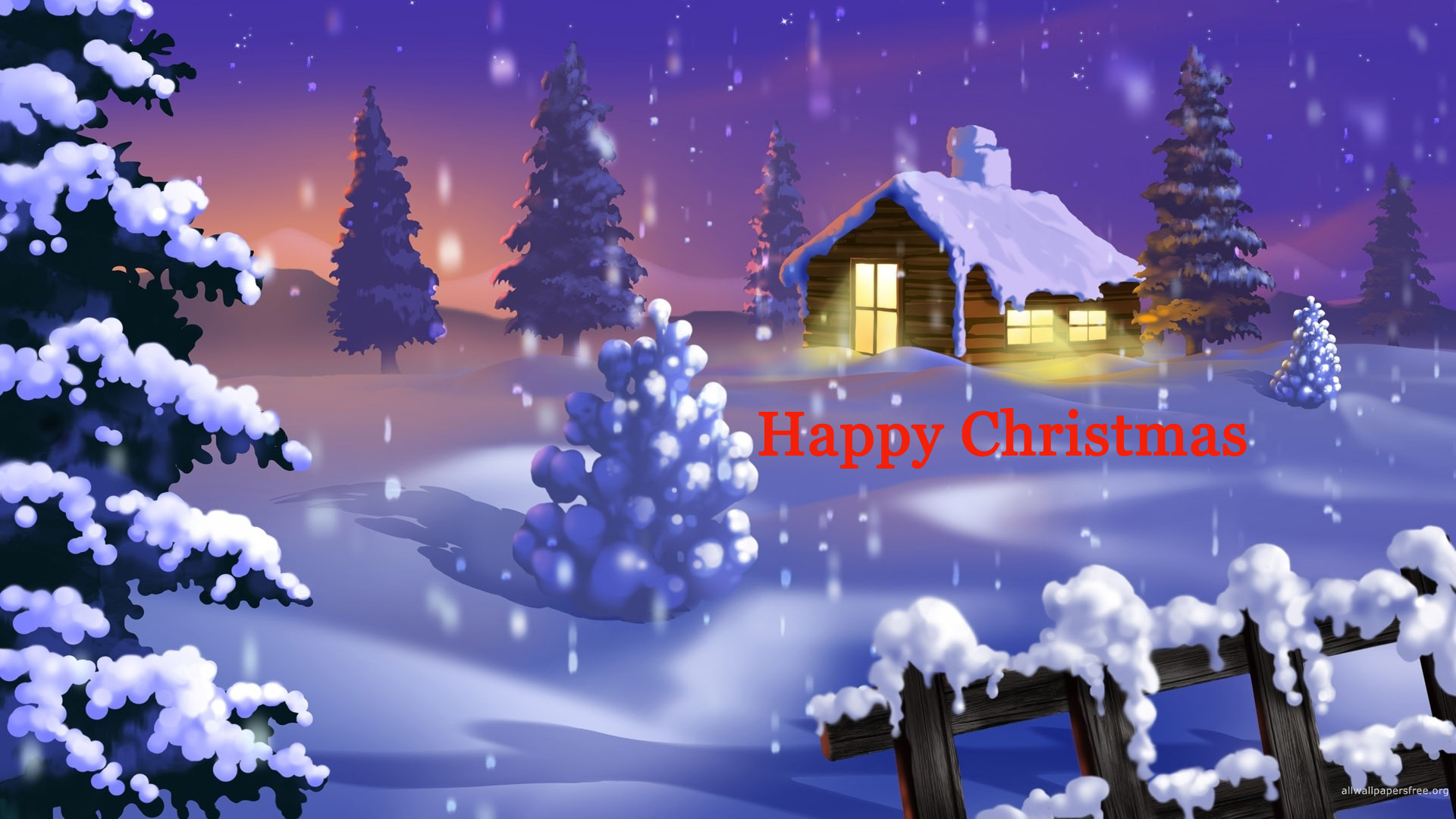 Happy Christmas HD wallpaper for download in laptop and desktop