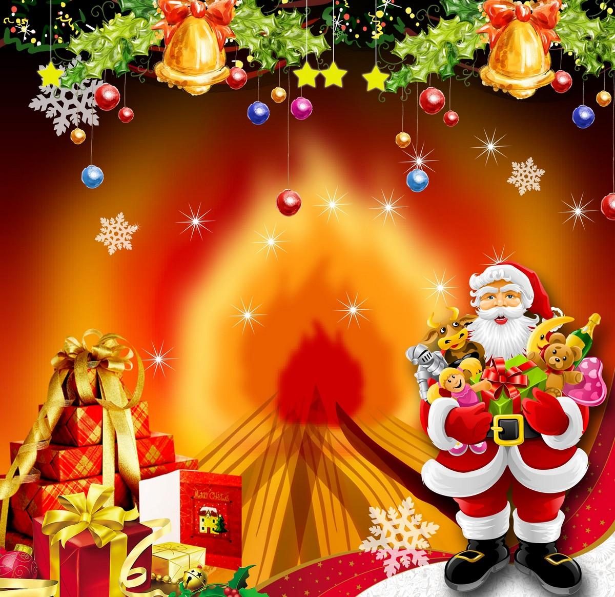 Merry Christmas Wishes HD Wallpaper · Merry ...