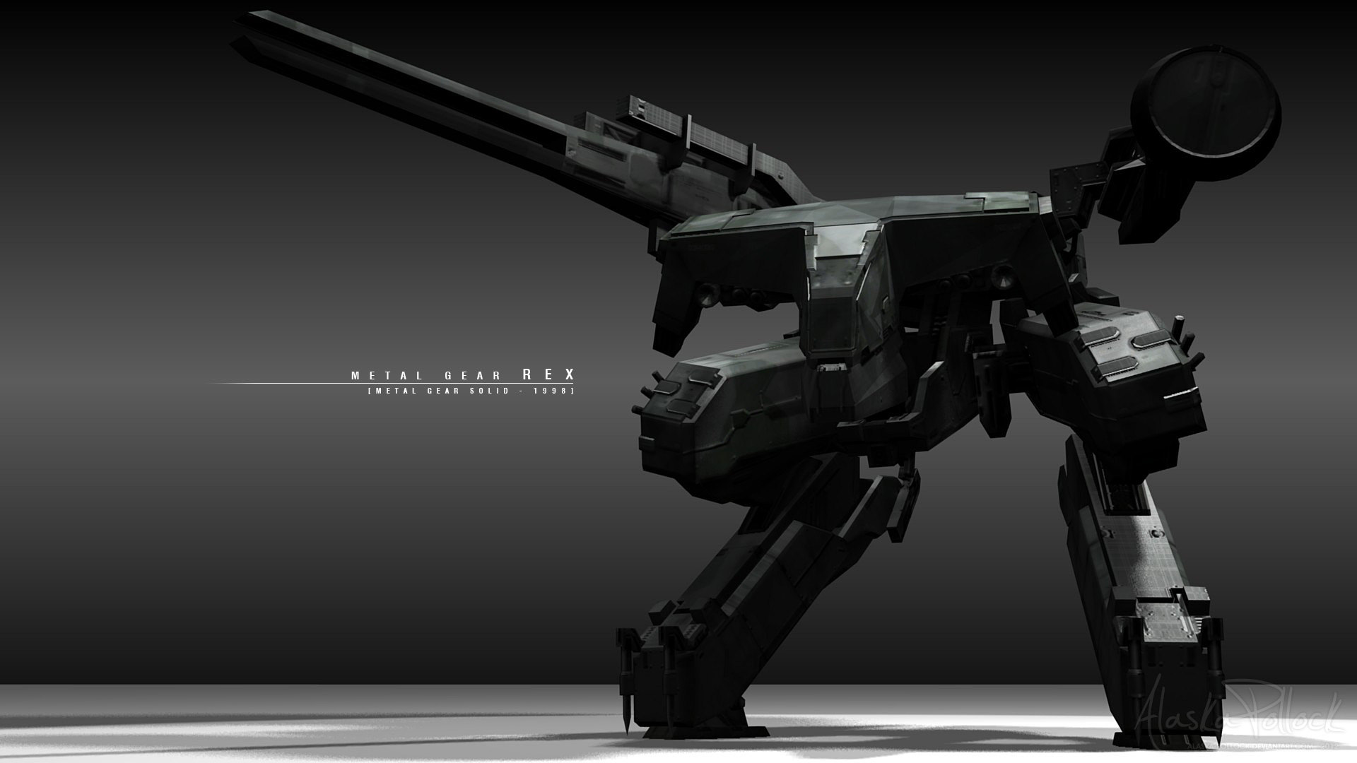 Metal Gear Rex Wallpaper