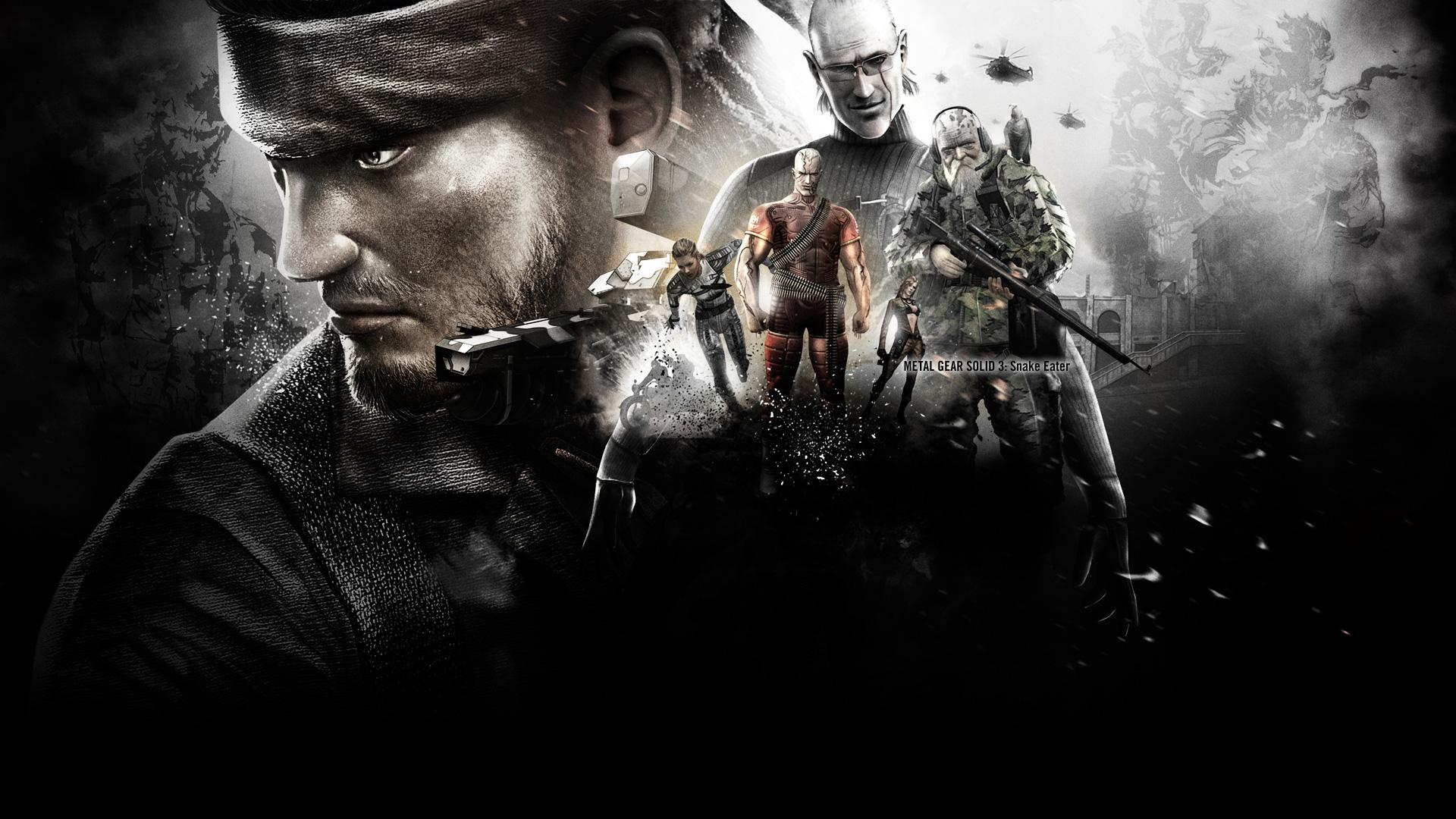 Metal Gear Solid Big Boss Wallpaper