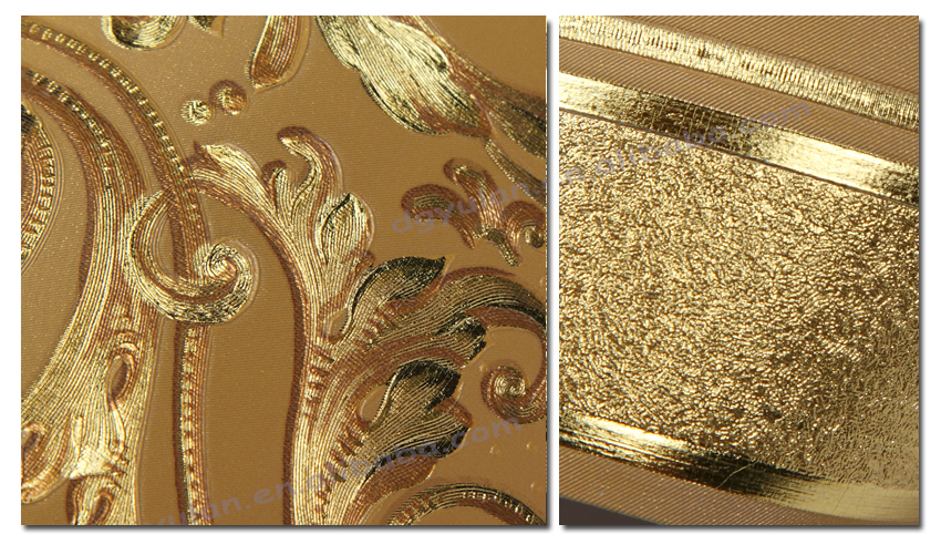 Metallic Gold Wallpaper Borders