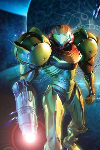 Metroid Iphone Wallpaper