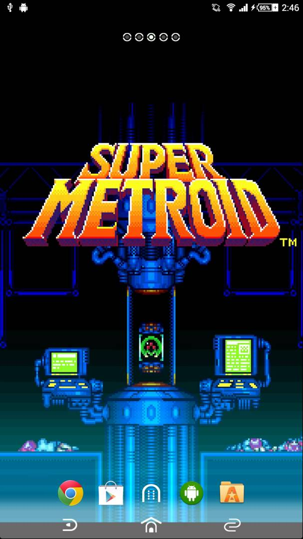Metroid Live Wallpaper