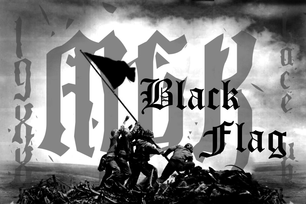 Mgk Black Flag Wallpaper