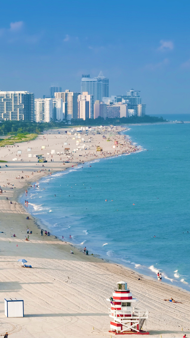 Download Miami Beach Iphone Wallpaper Gallery