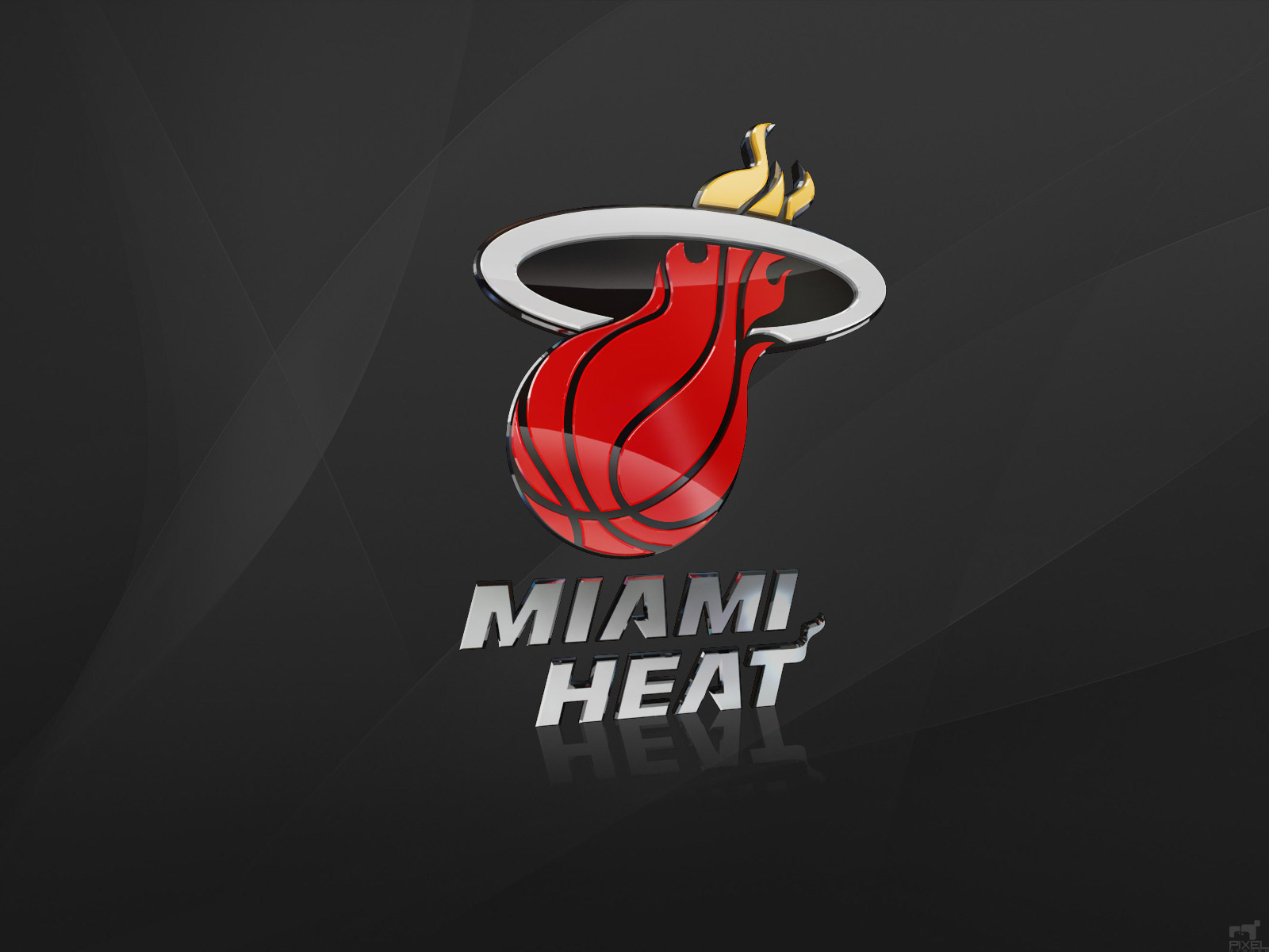 Miami Heat 3D Wallpaper